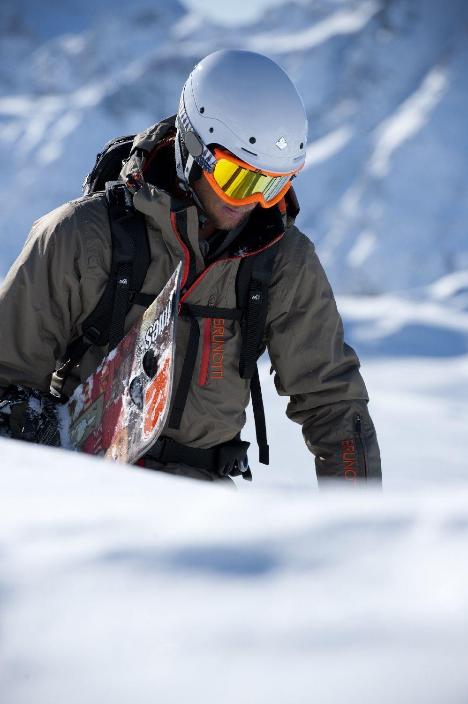 Brunotti Mens Snow Jacket Snow skiing, Winter fashion