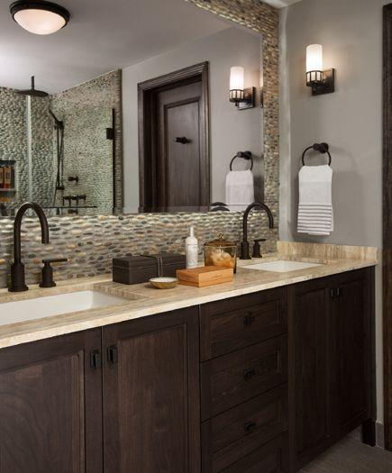 bathroom recessed lighting ideas espresso. espresso cabinets bathroom recessed lighting ideas