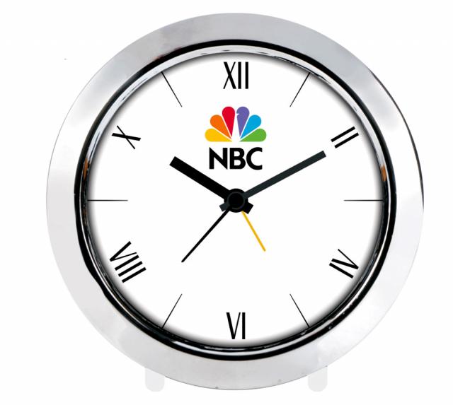 Alarm Table Clock (Chrome Plated)