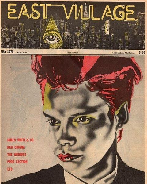 stupefactionblog:  Cover star of the May 1979 #eastvillageeye....