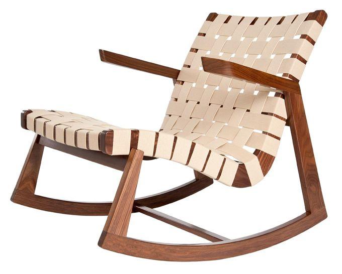 Remarkable Ralph Rapson Greenbelt Rocking Chair Bands Outdoor Inzonedesignstudio Interior Chair Design Inzonedesignstudiocom