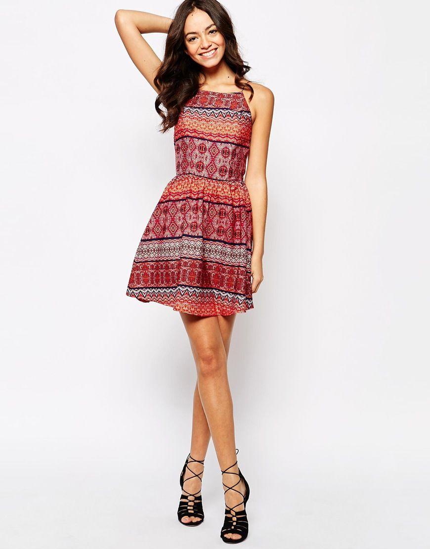 Image of new look boho printed sundress dress up u romp around