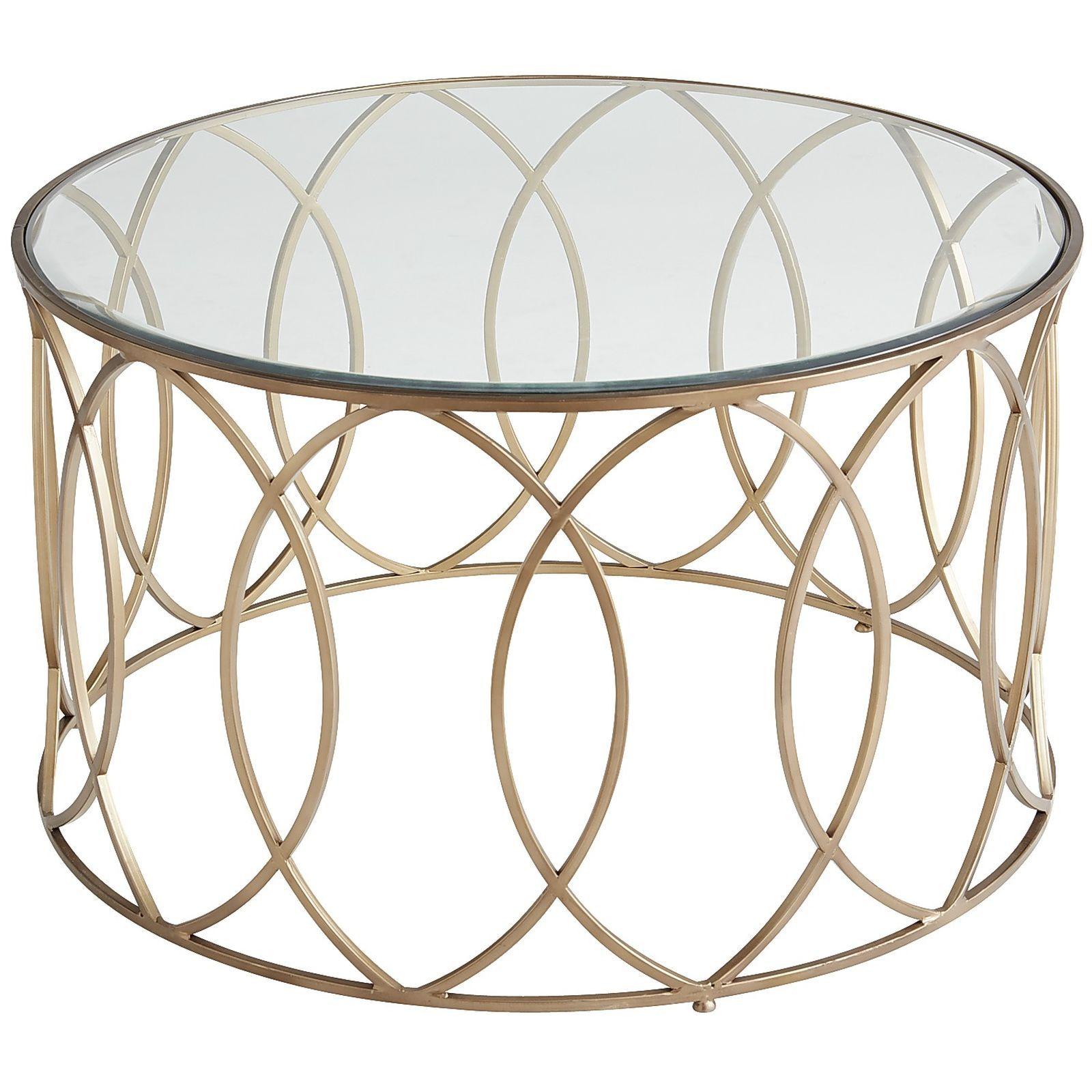 Elana Bronze Iron Round Coffee Table Geometric Designs Living - Geometric round coffee table