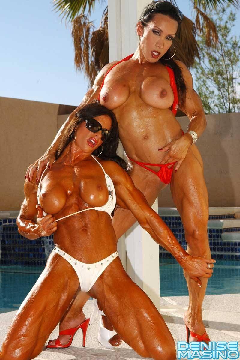 Lesbian bodybuilder