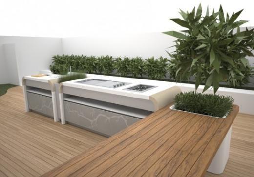 cucina da esterno Electrolux #kitchen #interiordesign | Cucina ...