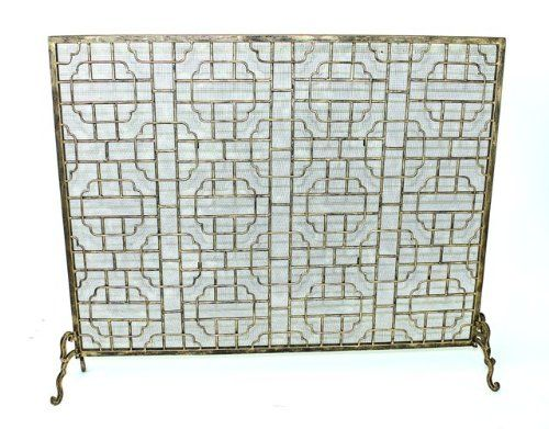 Geometric Single Panel Flat Fireplace Screen Intelligent Design http://www.amazon.com/dp/B00A9QO7CM/ref=cm_sw_r_pi_dp_igRJwb0GV1NZK
