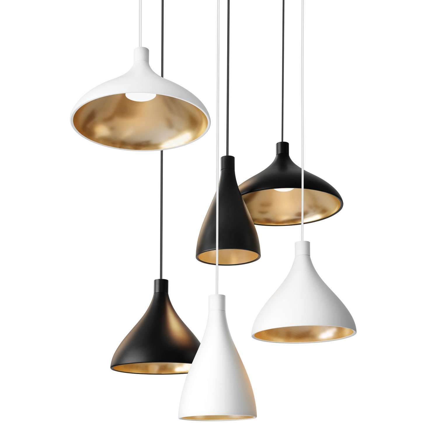 Swell wide pendant light cottage interiors modern contemporary swell wide pendant light mozeypictures Images