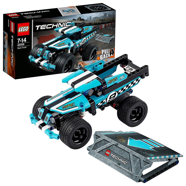 Lego Technic 42059 Stunt Truck Rückziehauto Auto Bauset Für
