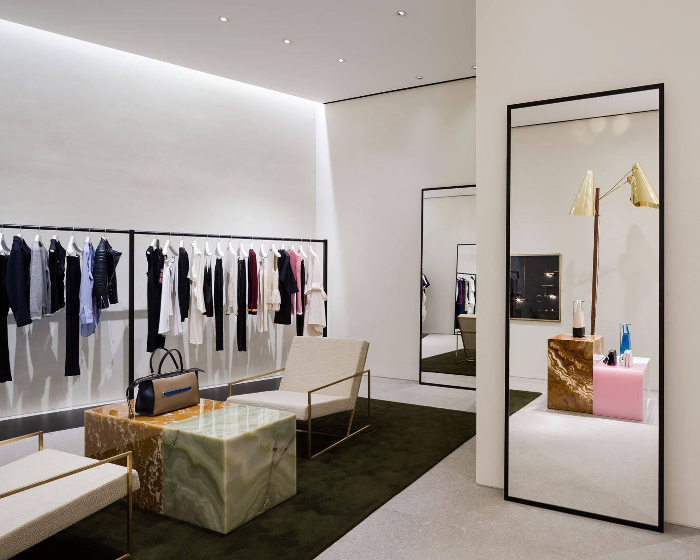 Celine store at emquartier by pp group fashion store - Interior design for retail stores ...