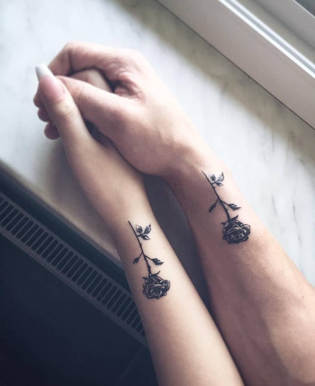 Ink Your Love With These Creative Couple Tattoos Rose Tattoos