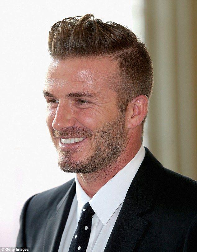 David Beckham Cuts A Dapper Figure At Buckingham Palace David