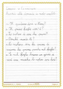 Quaderno Di Italiano Classe Terza Quaderni Di Italiano Pdf