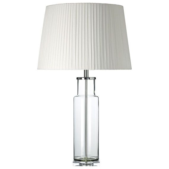 Contemporary and a little bit fun our colourful santerno glass table lamps will brighten up