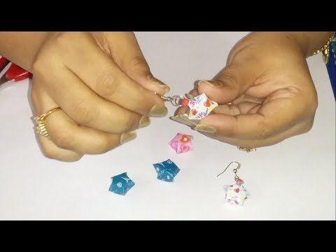 1. How to make Origami Star Earrings - YouTube
