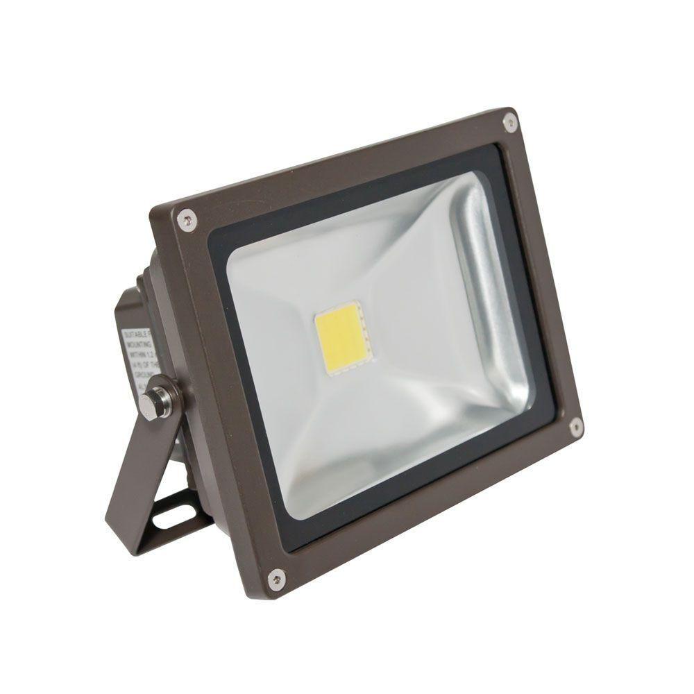 Led Outdoor Flood Light Bulbs Entrancing 1Head Bronze Led Day Light Mini Outdoor Wallmount Flood Light