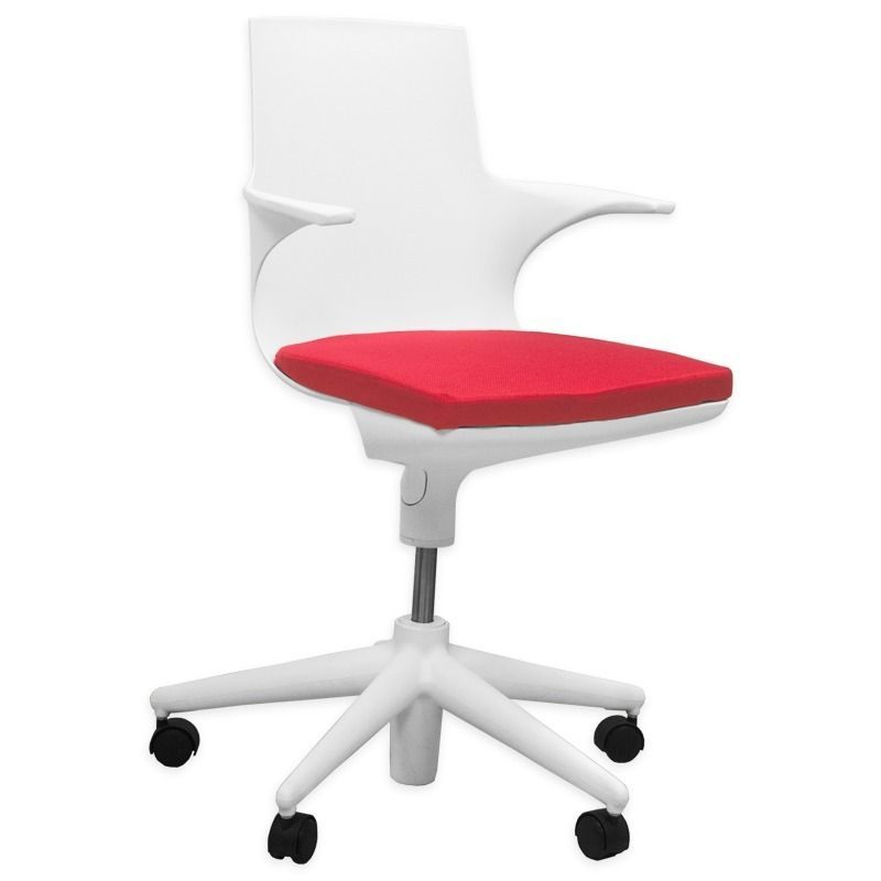 White Spinny Chairs. bedroom lovely small office chair for ...