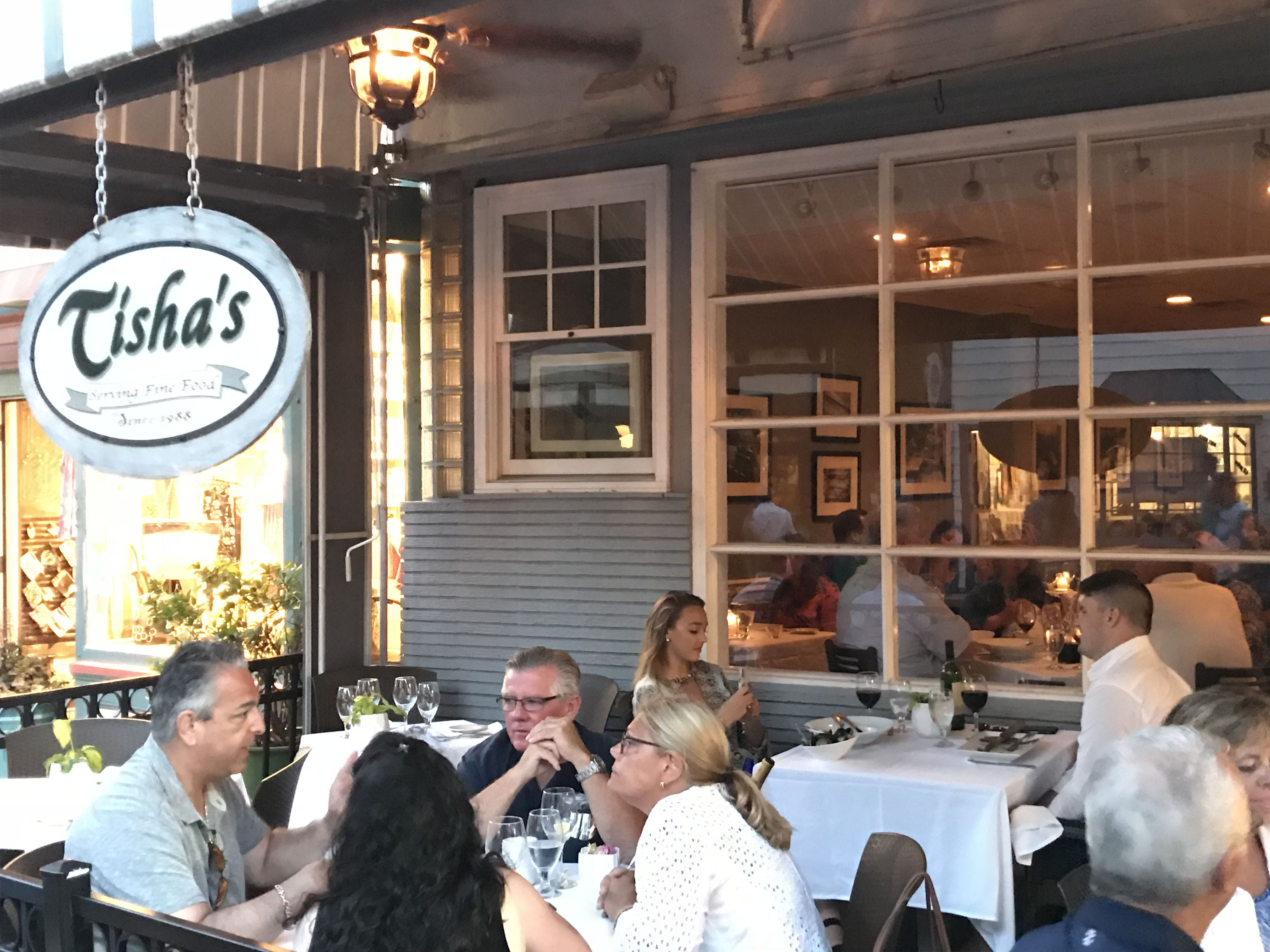Tisha S Locals Love Tisha S For Fine Dining It Has Been A Popular Spot Downtown For Over 30 Years At 322 Washingt Cape May Restaurants Cape May Magnolia Room