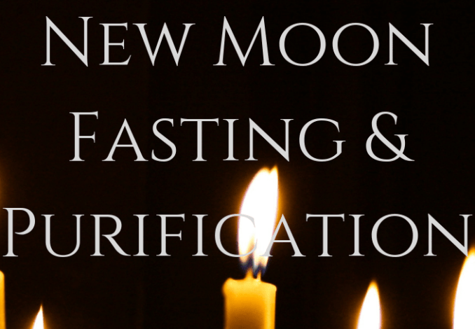 New Moon Fasting & Purification – The Witch & Walnut #newmoonritual