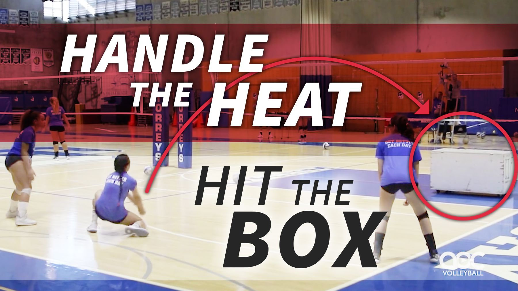 Handle The Heat Hit The Box Coaching Volleyball Volleyball Drills Volleyball