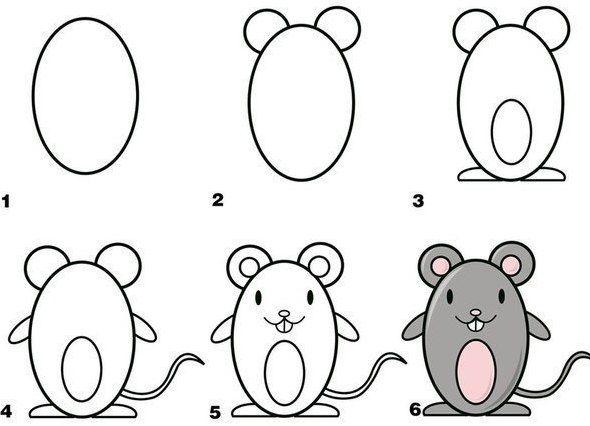 Рисунок животных фото для детей