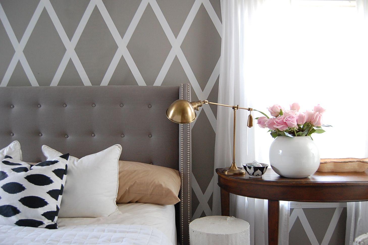 No Paint Diamond Wall | Diy wall decor, Home decor, Wall ...