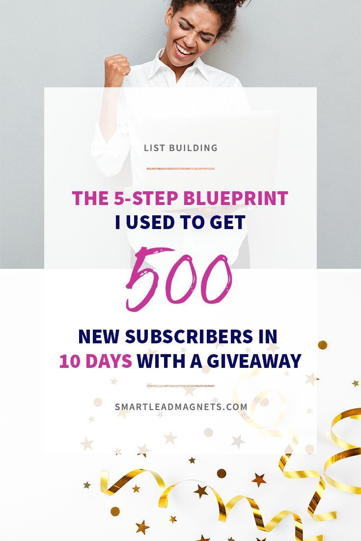 10 subscribers giveaways