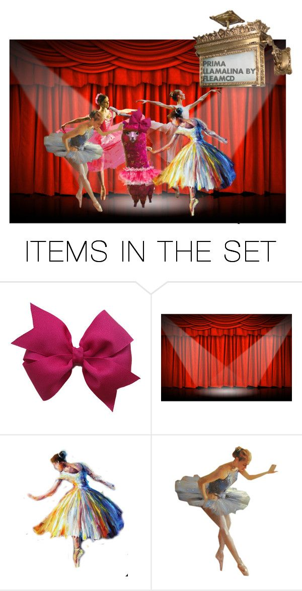 """Prima Llamalina"" by felicia-mcdonnell ❤ liked on Polyvore featuring art and polyvoreeditorial"