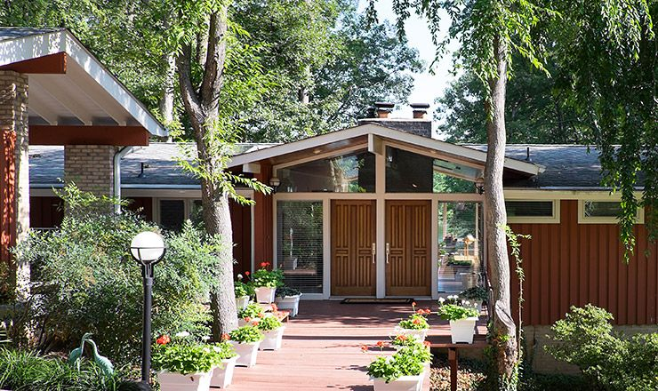 what if you just moved into one of these midcentury modern houses