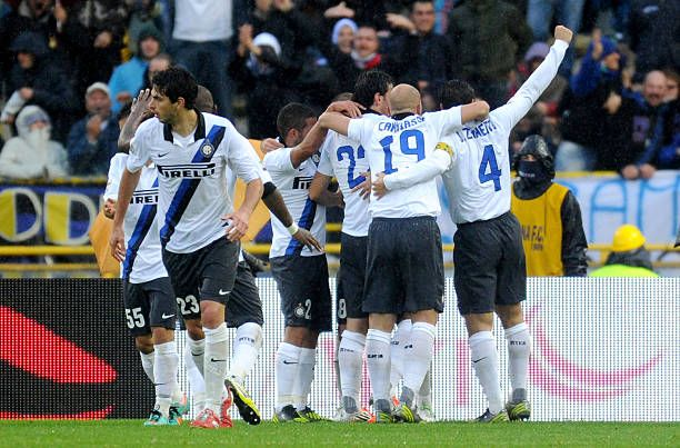 Bologna 1 Inter Milan 3 in Oct 2012 at the San Siro. Diego ...