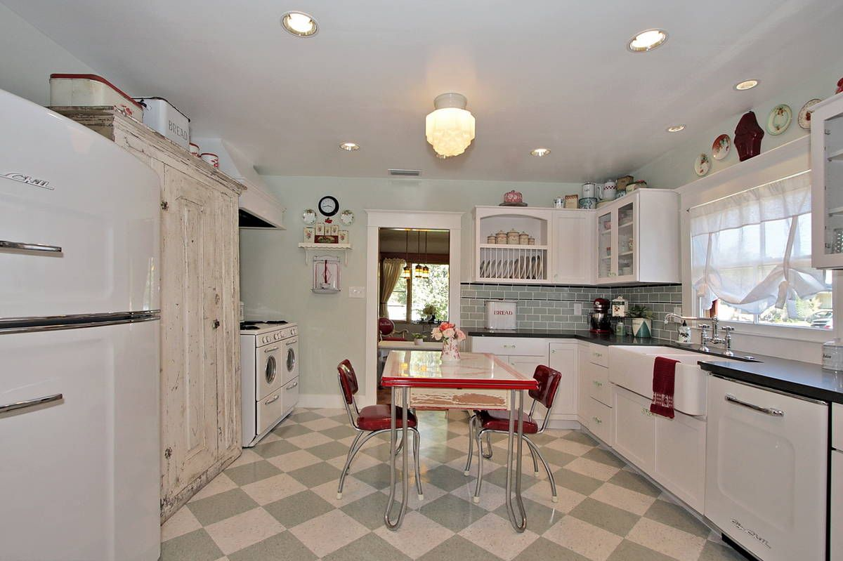Image result for 1920's kitchen