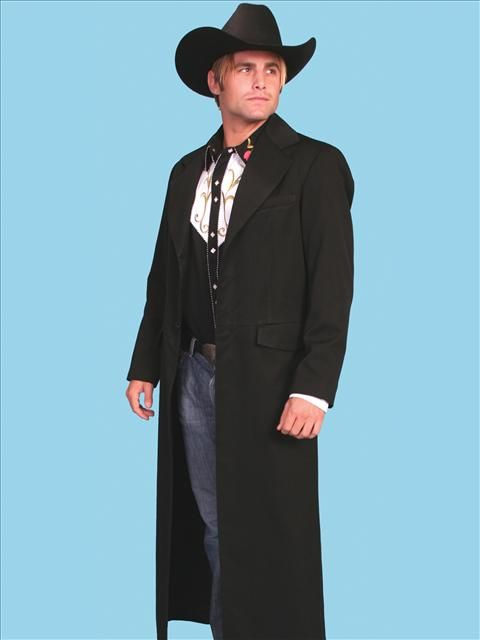 Frock Coat Full Length Men S 1800s Western Catalog Victorian Mens Clothing Western Fashion Western Outfits