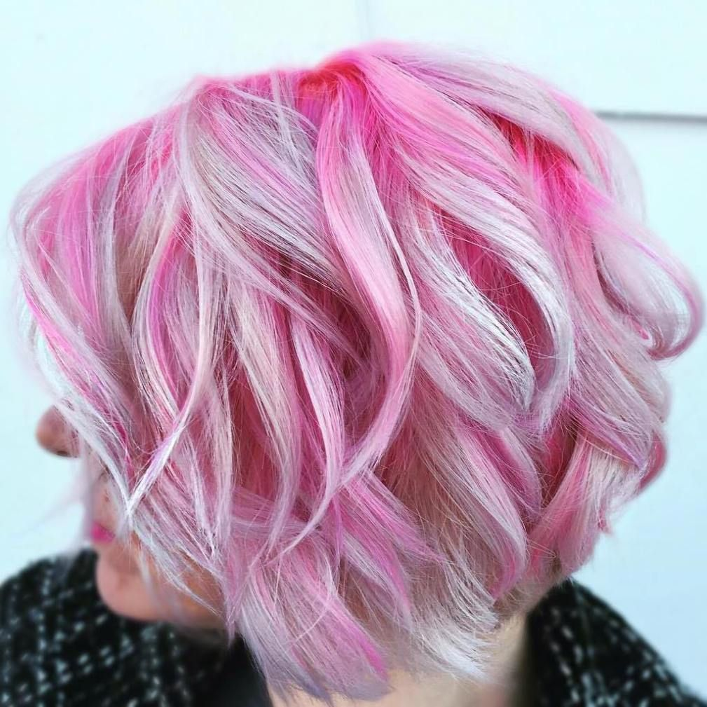 pink hairstyles as the inspiration to try pink hair platinum