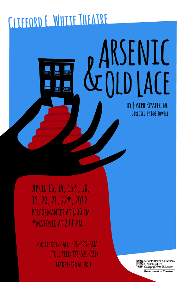 arsenic old lace poster design on behance