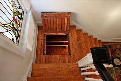 five new york homes with secrets revealed decorating tips pinterest escaliers id al et cols. Black Bedroom Furniture Sets. Home Design Ideas