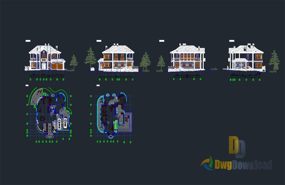 Villa Details Dwg Download Dwgdownload Com Hotel Plan Mosque Design Architecture Details