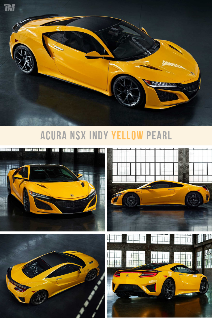 The Acura Nsx Hybrid Supercar Is Finally Available In Yellow Again Acuransx Acura Supercar Yellow Supercars Hybrid Hybrids Electri Acura Nsx Nsx Acura