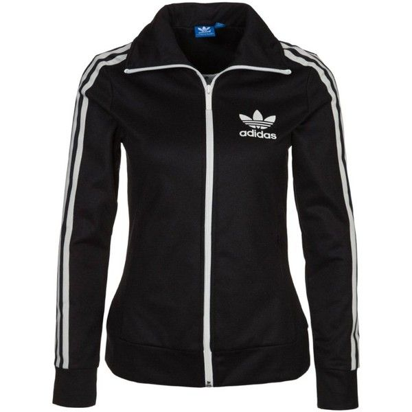 78106f098621 adidas Originals EUROPA Tracksuit top (2.385 UYU) ❤ liked on Polyvore  featuring activewear