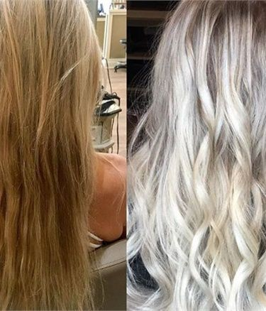 Transformation High Maintenance To Dimensional Rooty Ash Blonde With Images Hair Color Formulas Blonde Hair Color Sombre Hair Color