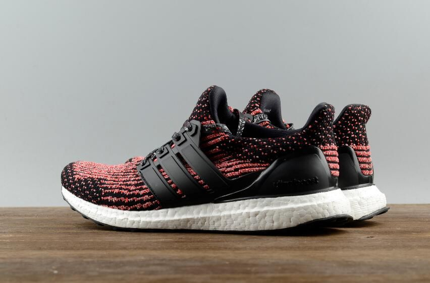 32aa22bfc9c5 Fress Shipping Original Adidas Ultra Boost 3.0 Real Boost Red Black BB3521  for Online Sale 09