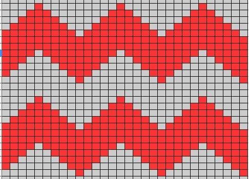 Comment tricoter des zig zags | L'Amour   – Knitting