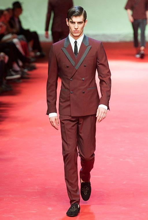Custom Made Burgundy Men Wedding Suit Groom Tuxedos Suits ...