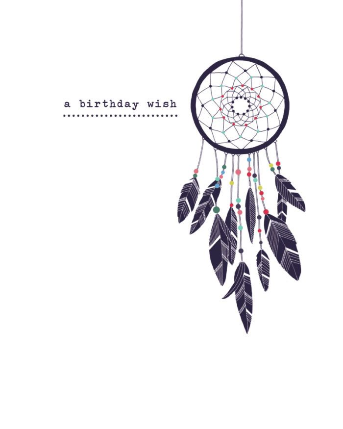 Birthday Wish Dreamcatcher Lizzie Preston