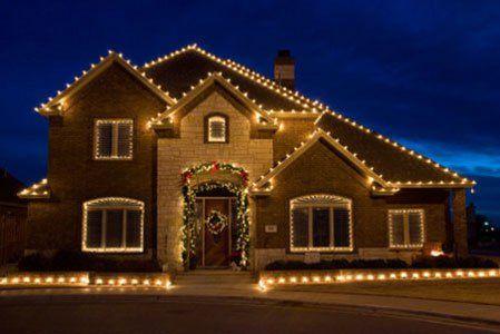 White led christmas lights new house pinterest christmas white led christmas lights mozeypictures Choice Image