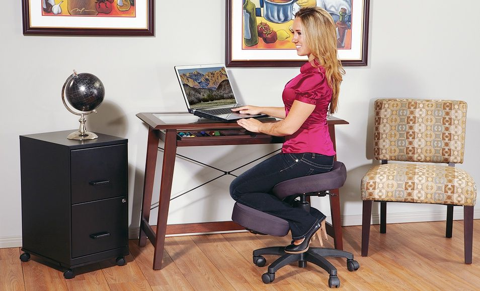 Ergonomic Kneeling Office Chair Deal Of The Day Groupon