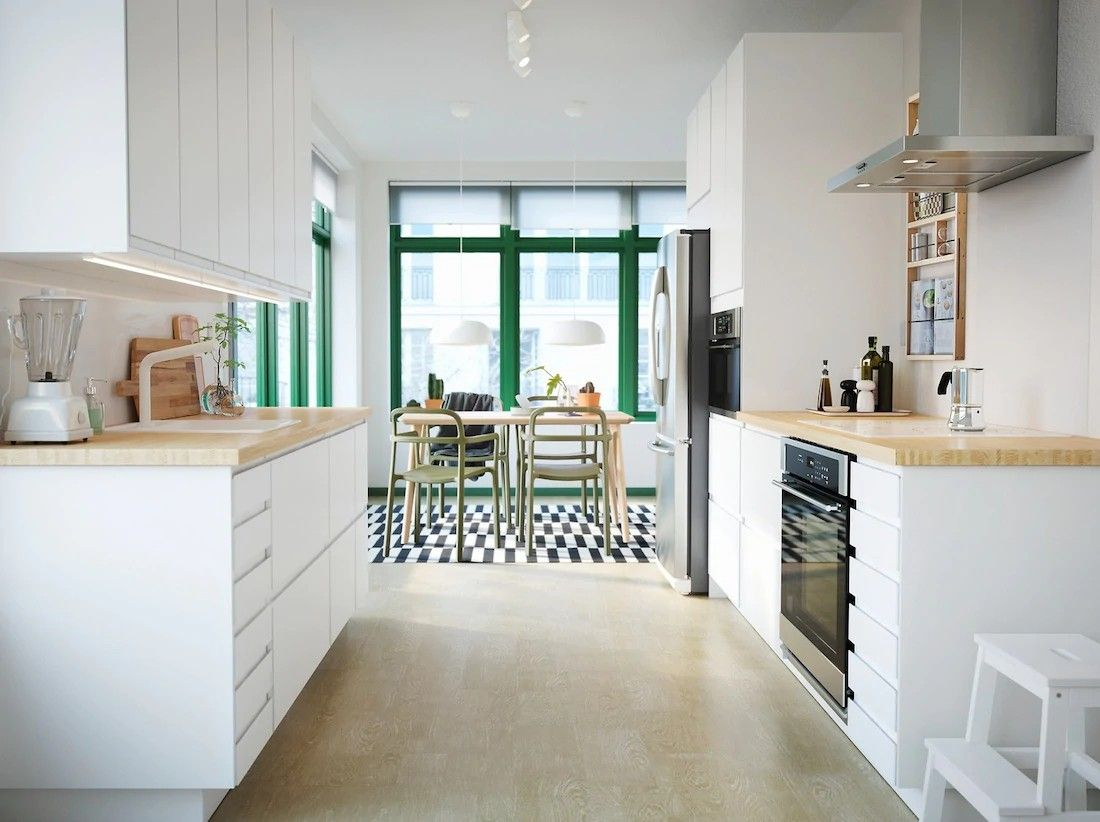 Pin De Laura En Cocinas Diseno De Cocina Moderna Cocina Ikea Diseno De Cocina