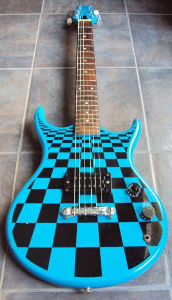 Up for consideration is an extremely rare Des Lauriers electric guitar in…