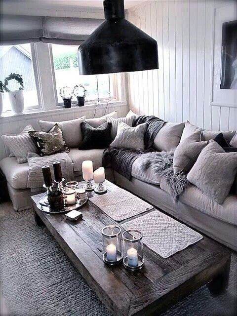 72 Simple And Cozy Living Room Decoration Ideas