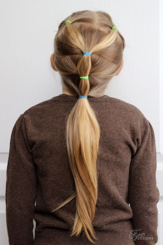 5 Minute Hairstyles for School   5 minute hairstyles, Hair styles, Little girl hairstyles