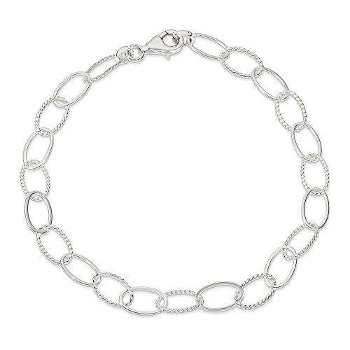 Sterling Silver Fancy Link Anklet 10 Inch Check Out This Great Product This Is An Amazon Affiliate Li Anklet Bracelet Silver Ankle Bracelet Ankle Bracelets