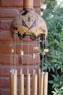 DIY: Make Your Own Wind Chime #gardencraft